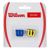Antivibrador Wilson Profeel - Azul e Amarelo