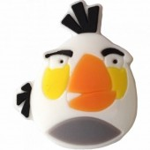 Antivibrador Angry Birds - Branco
