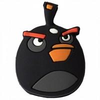 Antivibrador Angry Birds - Preto