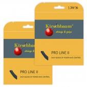 02 Sets de Corda Kirschbaum Pro Line II 16 - Preto