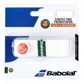 Cushion Grip Babolat Syntec Pro Roland Garros - Branco