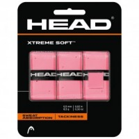 Overgrip Head Xtreme Soft - Rosa - 3Und